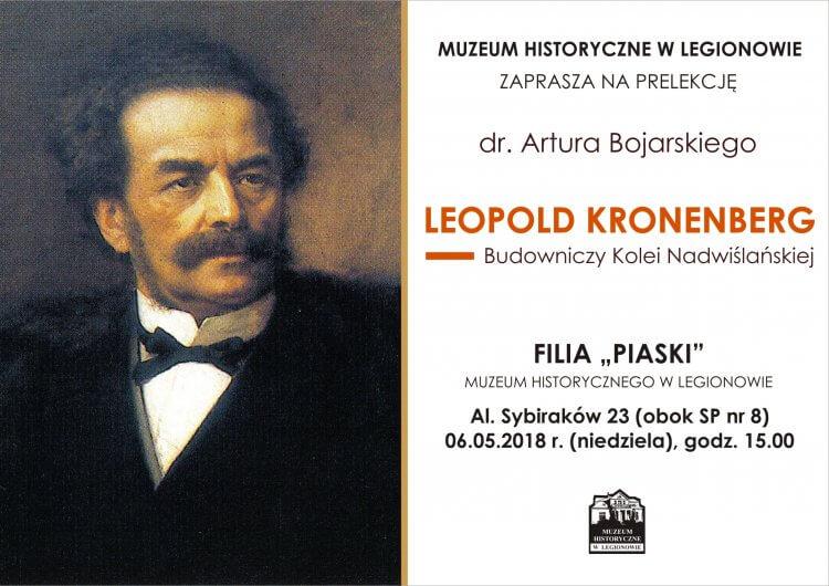 Leopold Kronenberg. Budowniczy Kolei Nadwiślańskiej