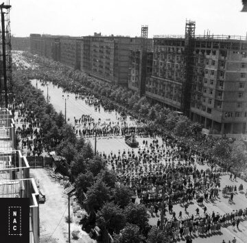 Ulica Marszałkowska, 1961 r.